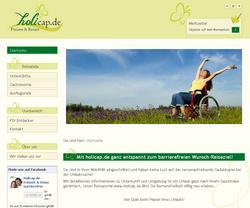 Holicap.de - Portal für barrierefreie Freizeit und Reisen