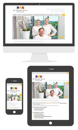 Website Dr. Paulus in Passau