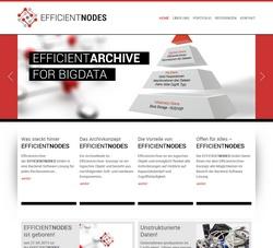 Screenshot EFFICIENTNODES GmbH in Straubing