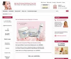 Gambio GX2 Shop www.beautyshopping24.de