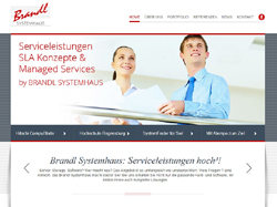 Screenshot Brandl Systemhaus in Straubing