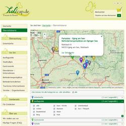 Open StreetMap Karte holicap.de