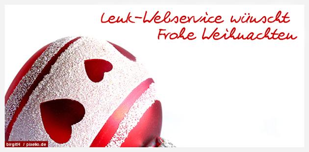Lenk-Webservice wünscht frohe Weihnachten 2012