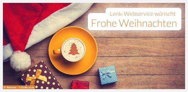 Lenk-Webservice wünscht frohe Weihnachten 2014