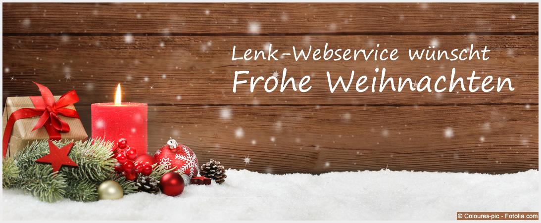 Lenk-Webservice wünscht frohe Weihnachten 2016